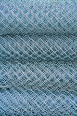 Rolls of rabitz type steel-wire plaster fabric