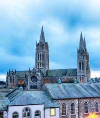 Dusk at Truro Cathedral