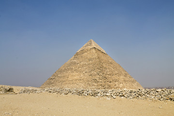 great pyramid of Hefren in Giza