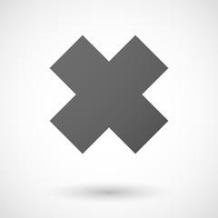 irritating substance  icon on white background