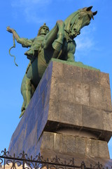 the monument to Salavat Yulaev, Ufa
