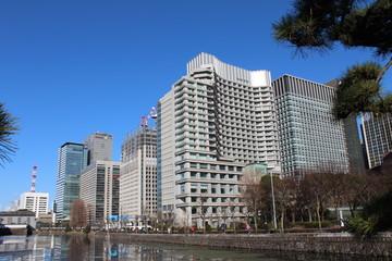 東京 ビル群 遠景