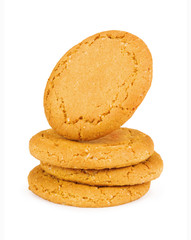 cookies on a white backround