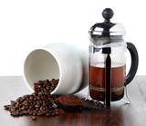 coffee french press pot - 76367859
