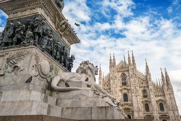Milano, piazza del Duomo, Italia