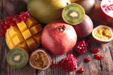 assortement of fruit