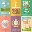 Golf Poster Set - 76369444