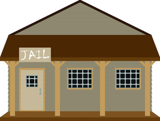 Jail on the Wild West