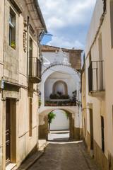 street in alburquerque, spain