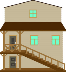House on the Wild West