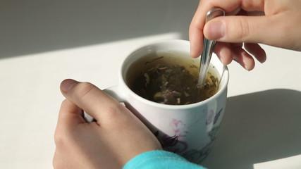 Cooking Green Tea