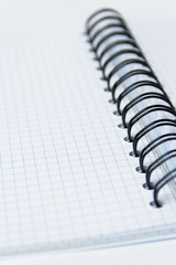 open notebook background