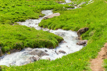 Mountain creek.