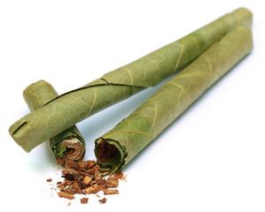 Cigar locally named as Cheroot in Myanmar
