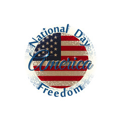 National Freedom Day America label
