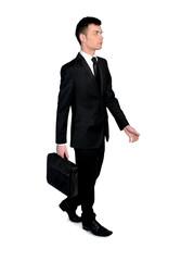 Business man walk