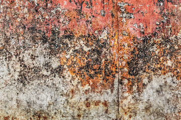 Old Rusty Metal Floater Surface Grunge Texture