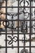 Unique metal gates in old part of historic Lvov, Ukraine