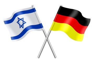 Flags : Israel and Germany