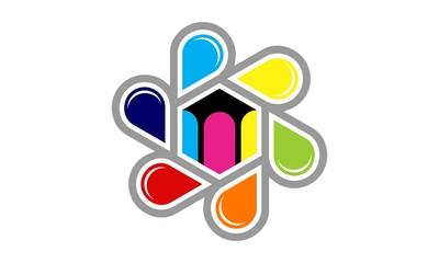 Ink Media Logo Template