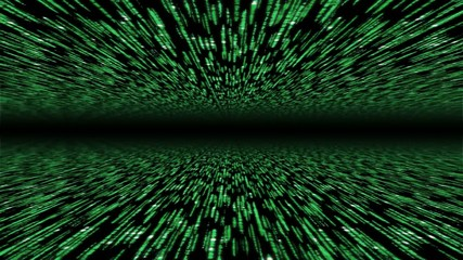 matrix 3d - 30fps loop - flying through cyberspace