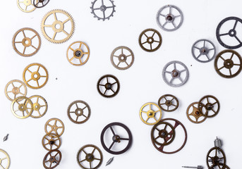 Gears on the table