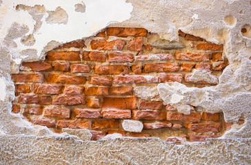 Stone wall of Tuscany