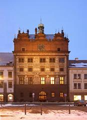 City hall in Plzen. Czech Republic