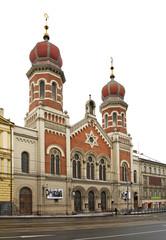 Great Synagogue in Plzen. Czech Republic