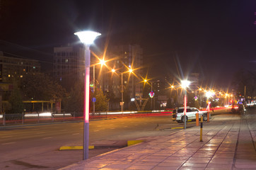 night city street