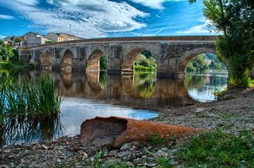 Roman stone bridge