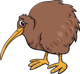 kiwi bird cartoon illustartion