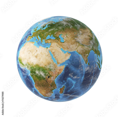 Leinwanddruck Bild earth