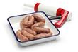 raw sausage and sausage maker