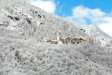 Valmalenco (IT) - Villaggio di Primolo