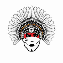 North American Indian chief
