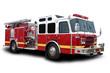 Leinwanddruck Bild - Fire Truck