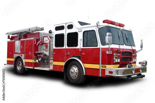 Fire Truck - 76380653