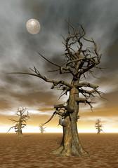Dead tree - 3D render