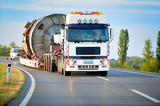 Heavy truck on the road