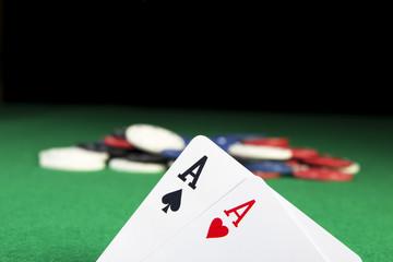 Poker Aces pair