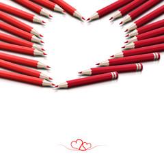 Elegancka kartka na Walentynki