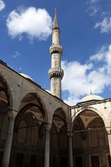 Part of Blue Mosque courtyard