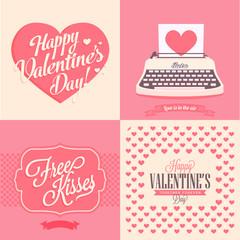 4 valentines day card