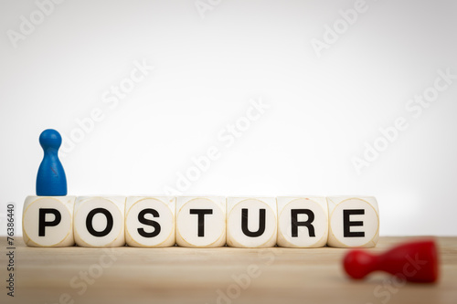 Good and bad posture - 76386440