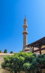 Suleymaniye Mosque. Old Town. Rhodes. Greece