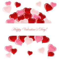 Flying Valentines heart