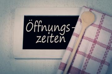 Öffnungszeiten Restaurant ©yvonneweis