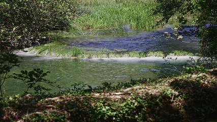 Krka river cascade