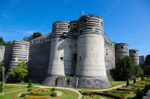 Papiers peints Chateau Castle of Angers, Loire valley, France